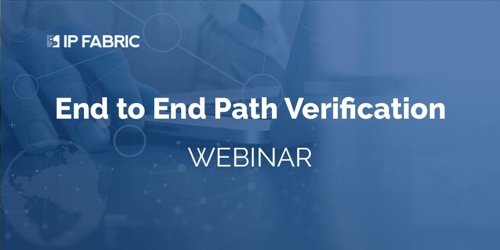 E2E Path Verificaiton - Web