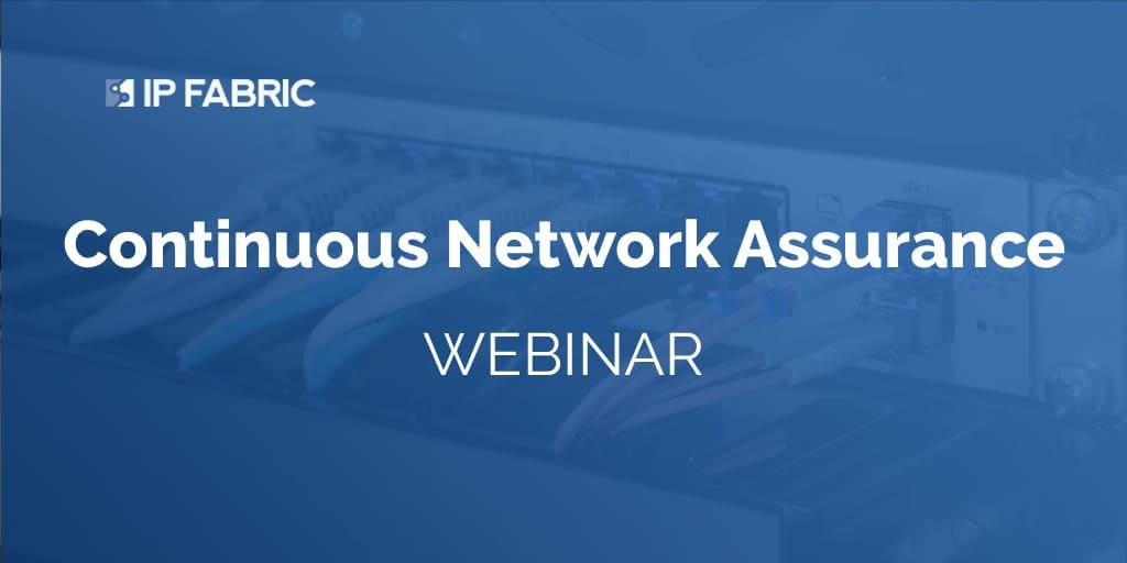 Network Assurance