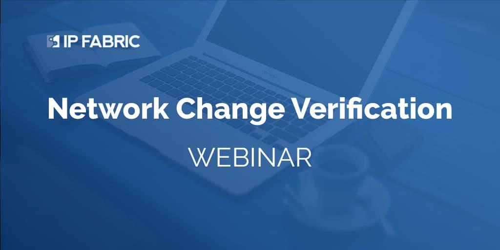 Network Change Verification