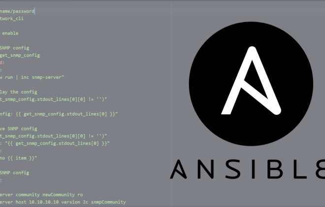 Ansible API automation