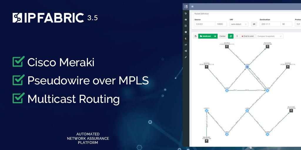 Release 3.5: Cisco Meraki